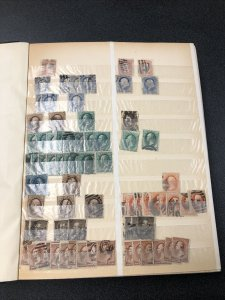US Early Vintage Used Stamp Lot - Sc#65 Thru 1000 - Cat. Value $2000+.