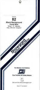 SHOWGARD BLACK MOUNTS 240/82 (10) RETAIL PRICE $11.95