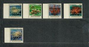 Cook Islands Sc#O41-O45 M/NH/VF, Cv. $28