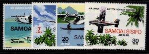 SAMOA QEII SG345-348, complete set, NH MINT.