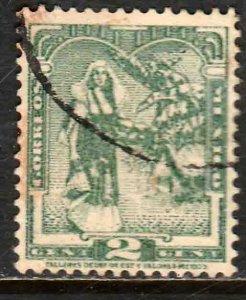 MEXICO 730, 2¢ TEHUAHA NATIVE LADY. USED.F-VF. (587)