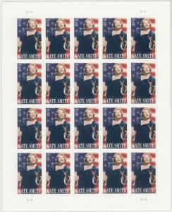 2010 U.S 44¢ Kate Smith, Singer complete sheet of twenty MNH Sc# 4463