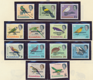 Gambia Stamps Scott #193 To 205, Mint Never Hinged - Free U.S. Shipping, Free...