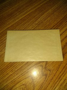 GLASSINE ENVELOPES SIZE 4.5 x 2.5 LOT OF 25 FREE US SHIPPING