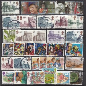 GREAT BRITAIN  ^^^^#1436//1582   used  collection ( TOPICALS++)$ 45.00@ sc43gb43