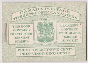 Canada - #BK32d - 1942 Bilingual War Booklet Complete VF-NH