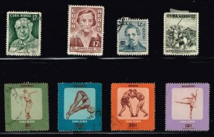 CUBA STAMP Airmail Stamps Collection Lot #S2