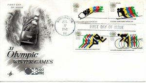US FDC #1460/C85 Olympics, ArtCraft (0009)