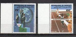 Djibouti 608-609 MNH