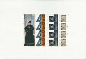 US Stamp/Sheet/Postage Sct #3383a Louise Nevelson-sculptor MNH F-VF OG  FV$6.60