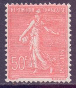 France SG421 - YT 199, 1924 Semeuse 50c MNH**
