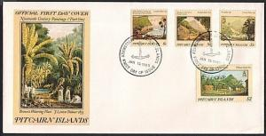 PITCAIRN IS 1985 Paintings commem FDC...........................74897