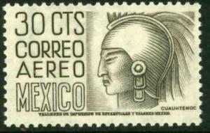 MEXICO C220B, 30cents 1950 Definitive 2nd Printing wmk 300. MINT, NH. F-VF.