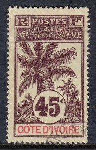 Ivory Coast - Scott #31 - Used - SCV $12