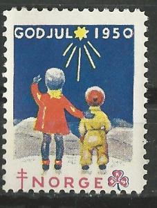 Norway  Non-postal  Christmas Seal   1950    (1) Unused VLH