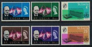St. Lucia 201-4,9-10*  CV $2.30