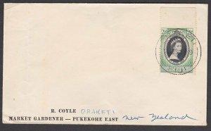FIJI 1953 cover to NZ ex DREKETI............................................R560