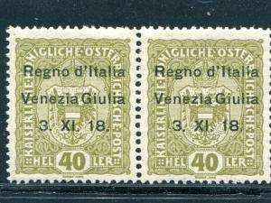 Austria #N10  rare pair VF NH  signed  Cat $1100 - Lakeshore Philatelics