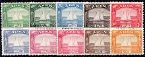 Aden 1-10 MH (short set)  CV$174.00 (for hinged)
