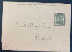 1893 British Guiana Postal Stationery wrapper Cover