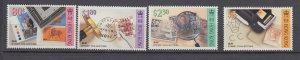 J29099, 1992 hong kong set mh #652-5 stamps
