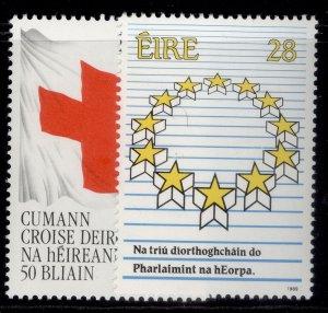 IRELAND QEII SG724-725, 1989 anniversaries & events set, NH MINT.