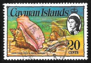 [7088] Cayman Islands # 341 Used
