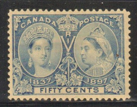 Canada #60 VF MINT  OG H Jubliee C$500.00