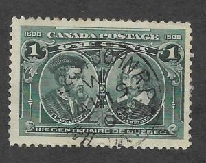 Canada Scott #147 Used 12c Laurier & Macdonald 2015 CV $5.50