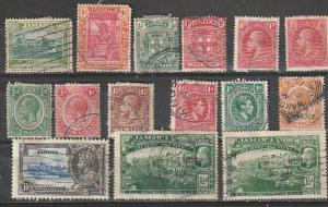 #58-9,61,75,77,101,103a-04,110,117,149,MR4 Jamaica Used