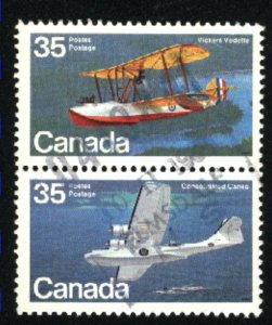 Can #845-46   pair    used VF 1979 PD