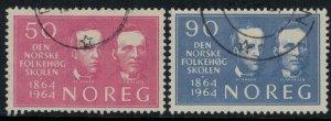 Norway #459-60  CV $3.75