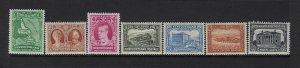NEWFOUNDLAND SCOTT #172/174-178/181 1931 WMK 224 (PARTIAL SET) - MINT LH/NH