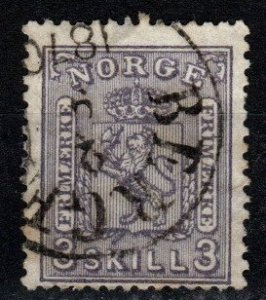 Norway #13 F-VF Used CV $160.00 (X9622)