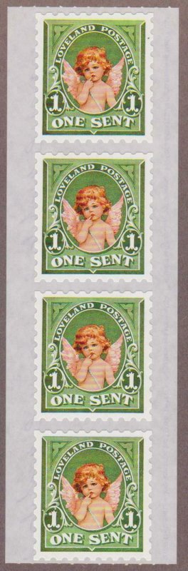 The Gifted Line by John Grossman - Loveland Postage Cherub - I Combine S/H