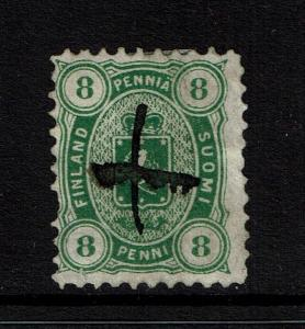 Finland SC# 19, Used, small bottom tear - S2432
