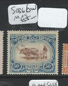 MALAYA KEDAH (P2702B) COW  50C  SG 36BW     MOG