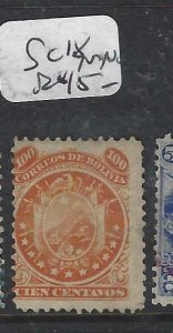 BOLIVIA  (P1606B)    SC 18   MNG
