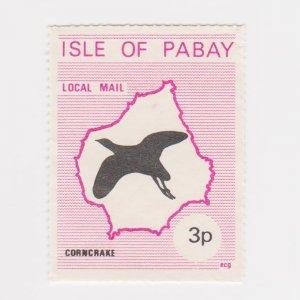 PABAY, British Local - 1972 - Corncrake  - Perf MNH Single Stamp