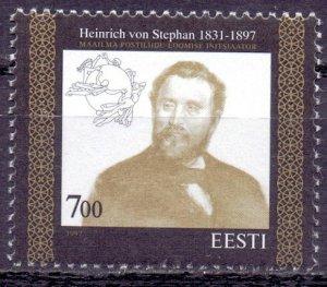 Estonia. 1997. 300. Postage stamp inventor mail. MNH.