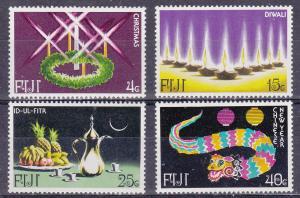 Fiji MNH 393-6 Festivals 1978