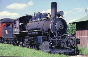 Steam Loco Vulcan 2-6-2 #4 1916 L6