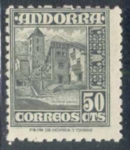 Andorra (Spanish) ~ #43 ~ Plaza of Ordino ~ MHH