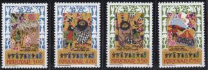 Faroe Islands 139-142 MNH (1986)