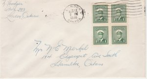 #249 Canada Cover Used