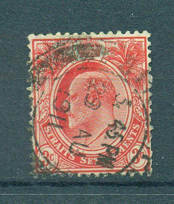 Straits Settlements sc# 130 (4) used cat value $.25