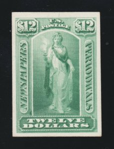 US PR28P4 Newspaper Periodical Proof on Card XF NH SCV $15