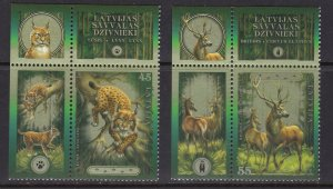 Latvia, Fauna, Animals MNH / 2006