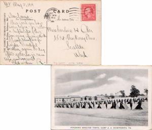 United States Virginia Alexandria, Va. Humphreys Br. 1918 Universal Machine T...
