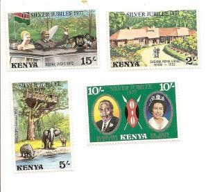 Kenya 84-87 MNH